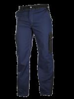 BROEK MILLAU Marine blauw/Zwart