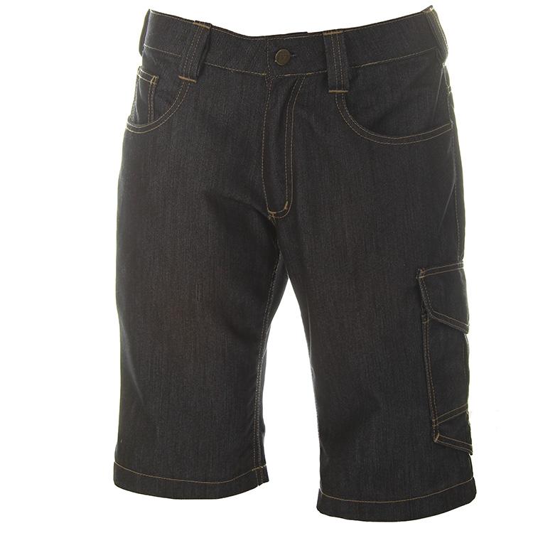 Spijkerbroek kort Canberra_voorkant